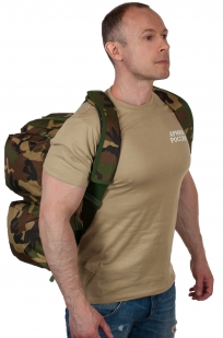 Военная дорожная сумка с нашивкой Танковые Войска
