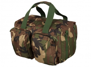 Военная дорожная сумка с нашивкой ВКС