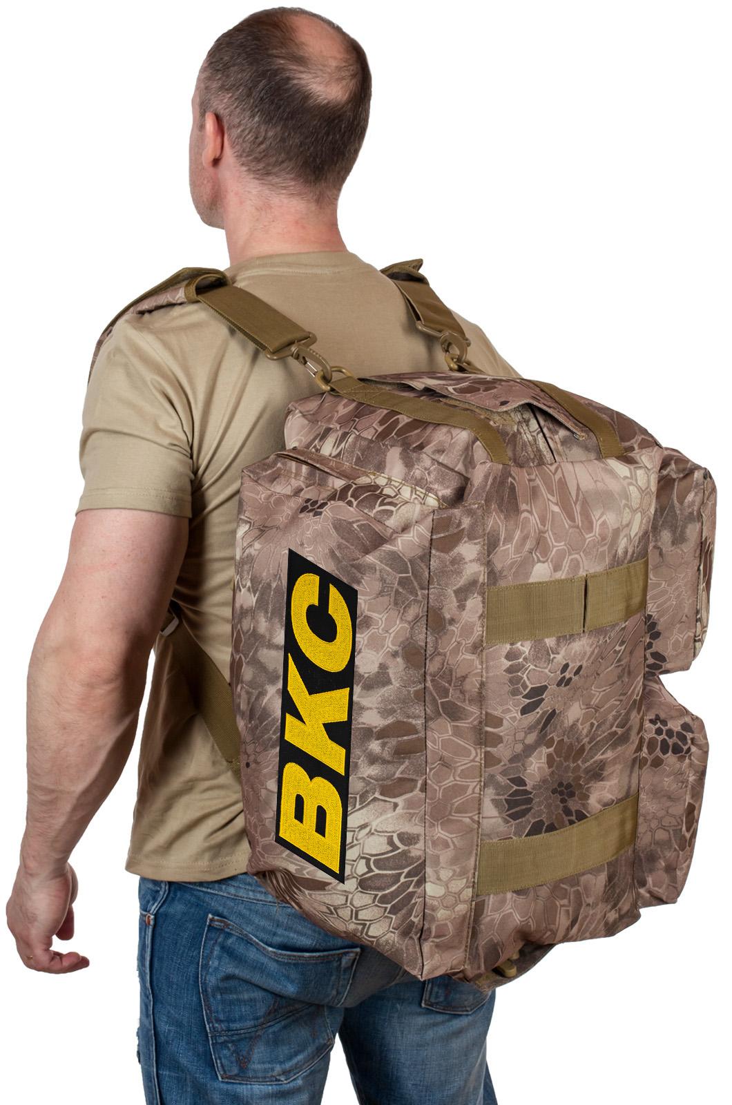Купить военную дорожную сумку ВКС по выгодной цене