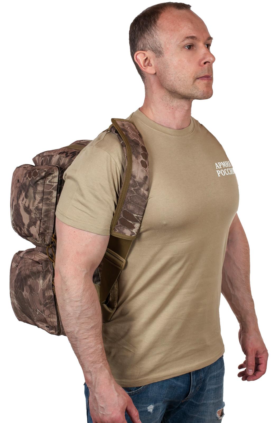Военная дорожная сумка ВМФ (камуфляж Kryptek Nomad)