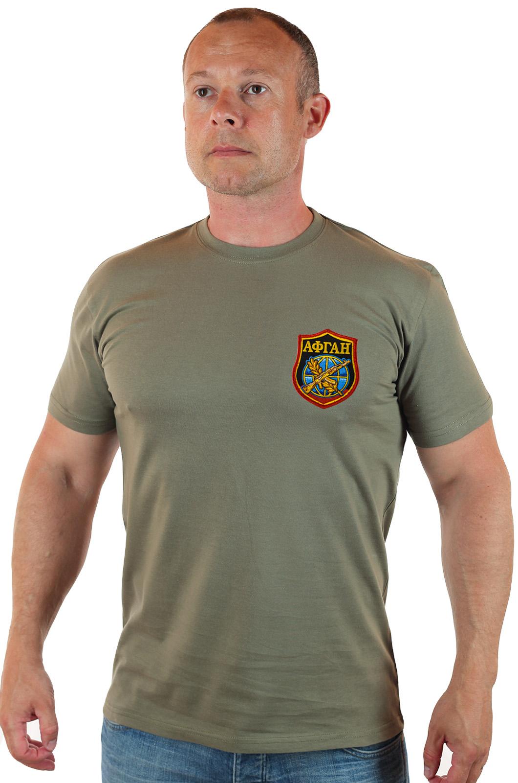 Военная футболка Афганистан – мужской выбор