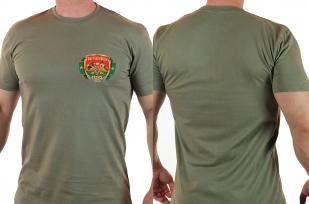 Военная футболка с эмблемой Погранвойск.