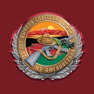 Военная мужская футболка Афганистан