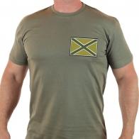 Мужская военная футболка Новороссия