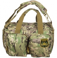 Военная камуфлированная сумка с нашивкой Танковые Войска