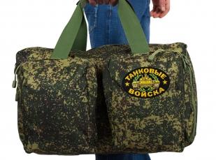 Военная камуфляжная сумка-рюкзак с нашивкой Танковые Войска - купить выгодно
