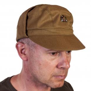 """Военная кепка афганка с мини-знаком """"30 лет вывода войск из Афганистана"""" отменного качества"""