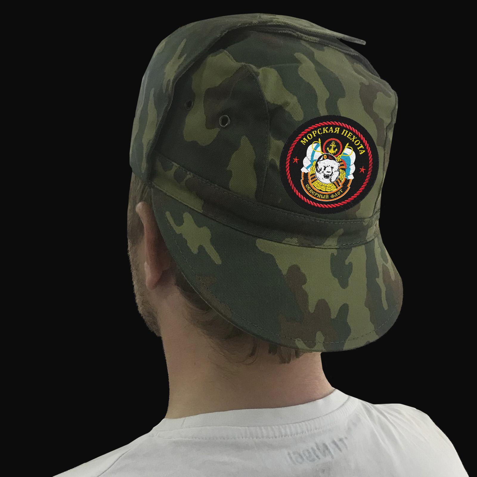 Купить кепку с вышивкой «Морская Пехота Северного Флота»