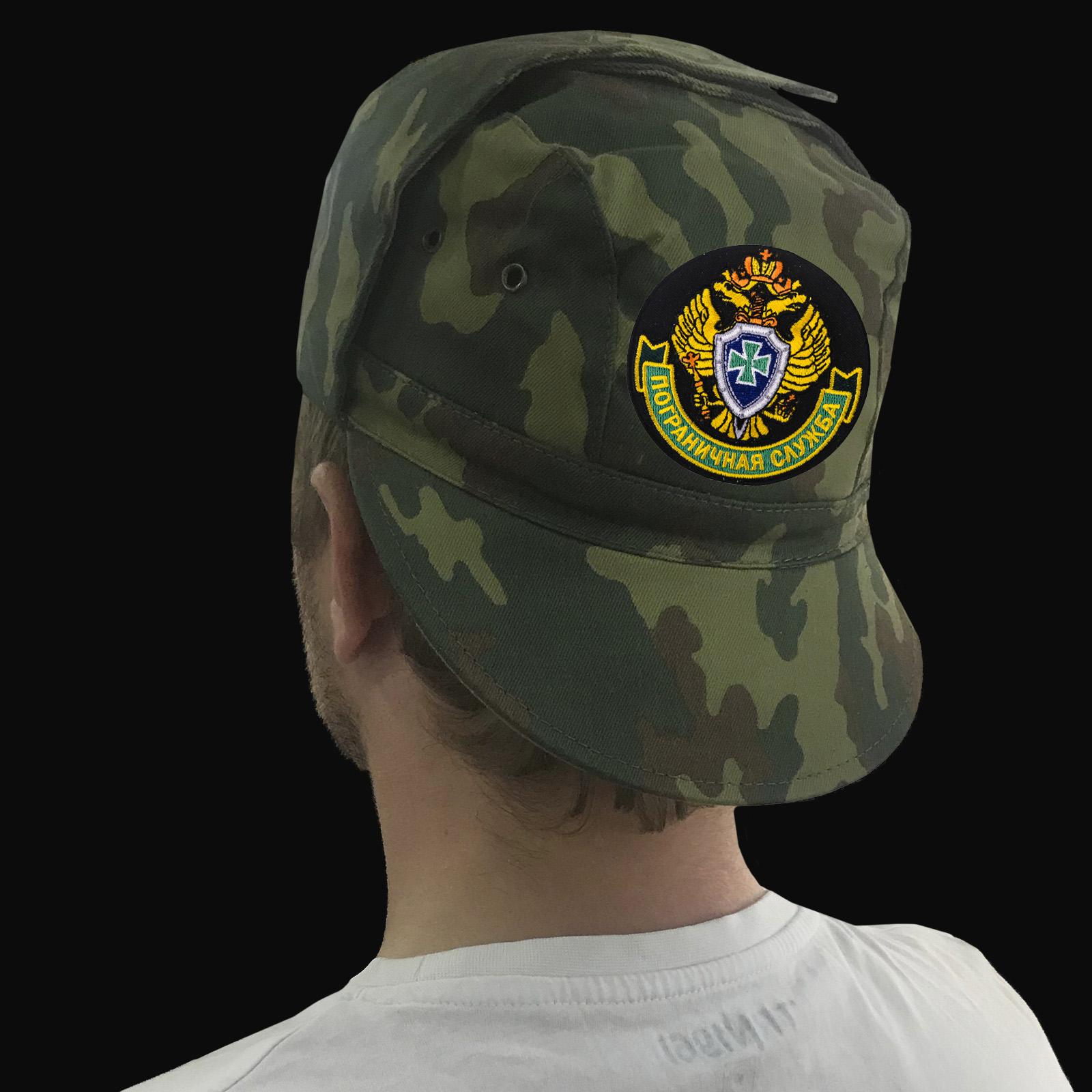 Мужские милитари кепки с эмблемой Пограничной службы
