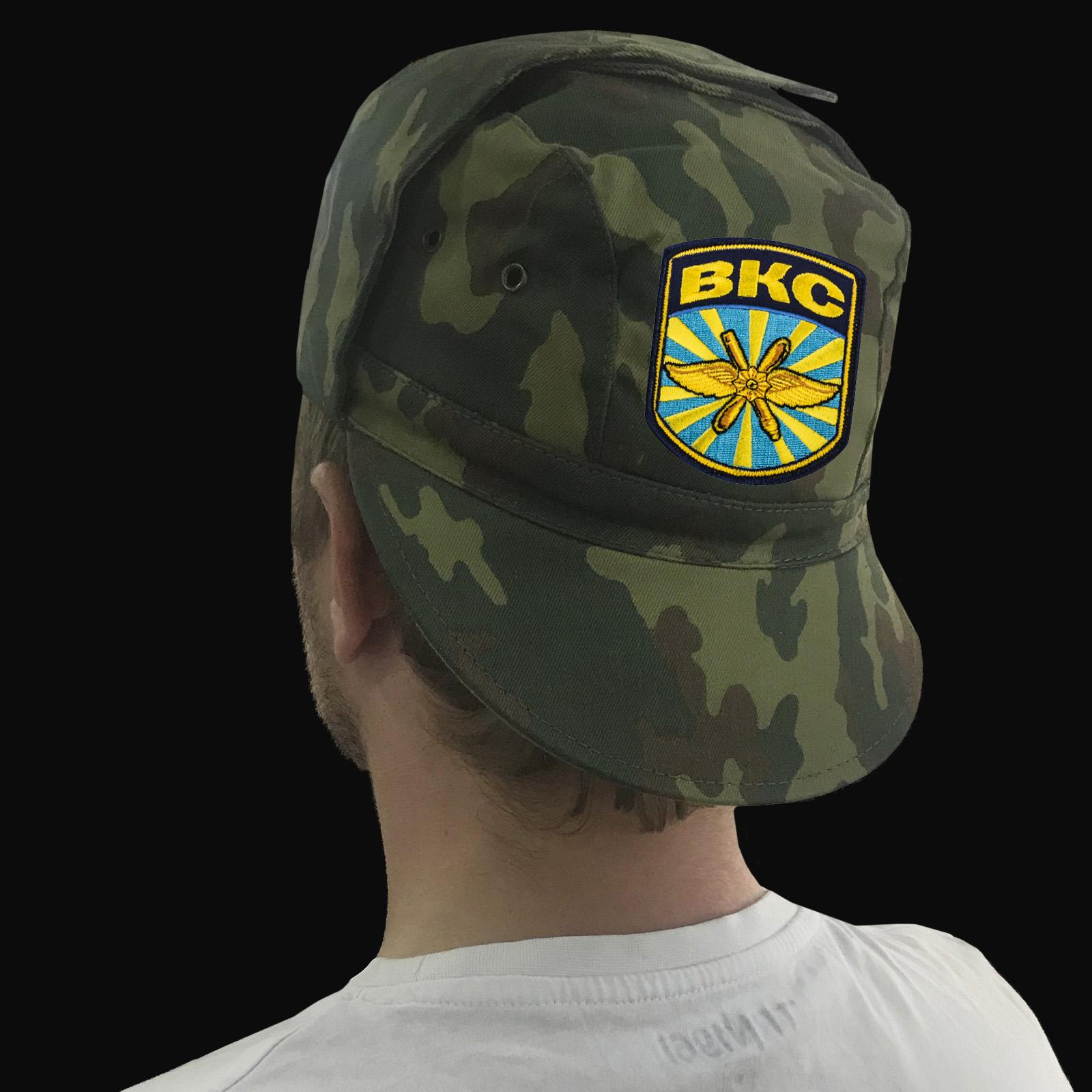 Мужские кепки с шевронами Военно-космических сил России