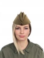 Военная пилотка для девушек