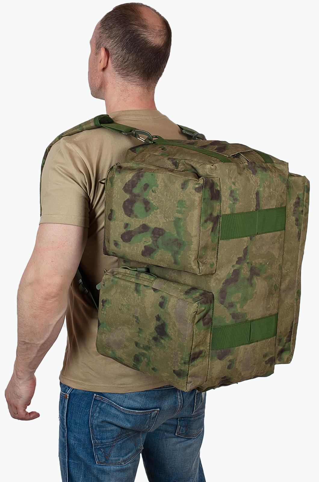 Военная походная сумка камуфляжа MultiCam A-TACS FG