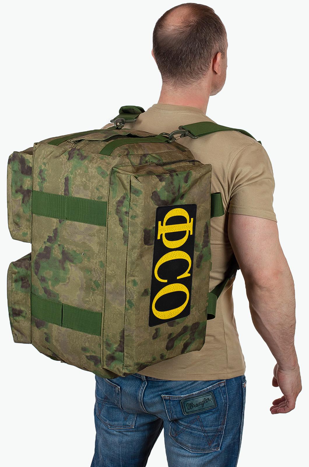 Купить военную походную сумку с нашивкой ФСО по выгодной цене