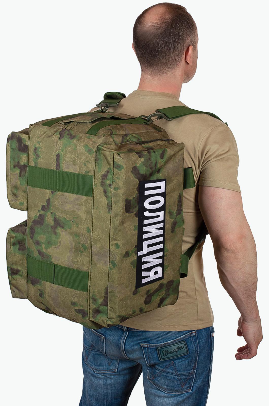 Купить военную походную сумку с нашивкой Полиция выгодно онлайн