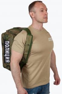 Военная походная сумка с нашивкой Полиция