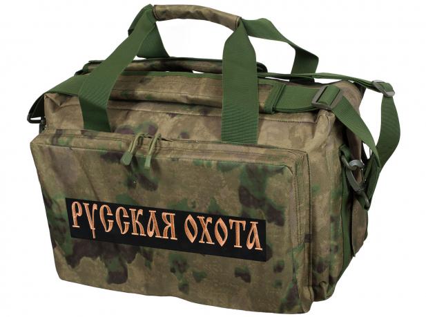5f8c29401bd4 Военная походная сумка с нашивкой Русская Охота