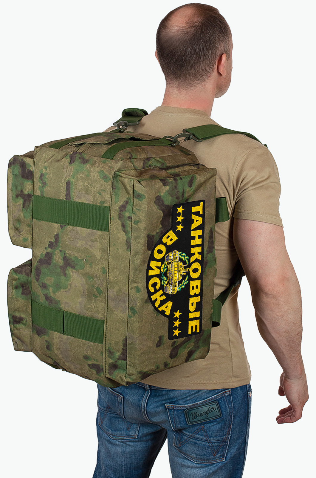 Купить военную походную сумку с нашивкой Танковые Войска по экономичной цене
