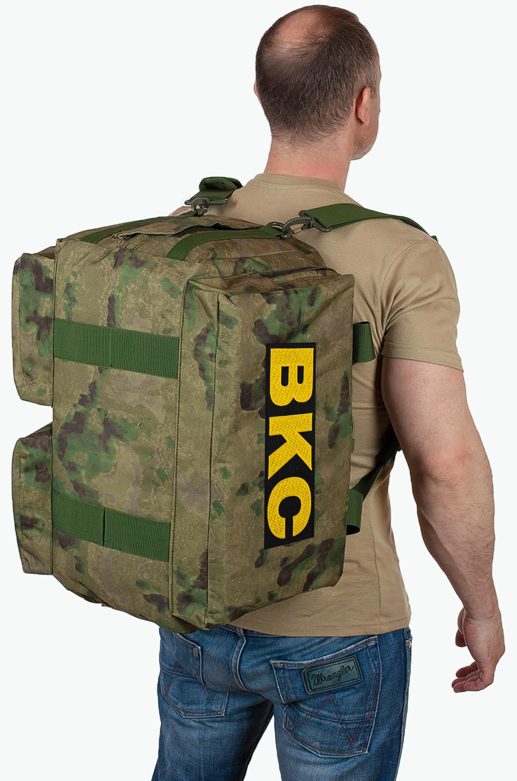 Купить военную походную сумку с нашивкой ВКС по лучшей цене онлайн
