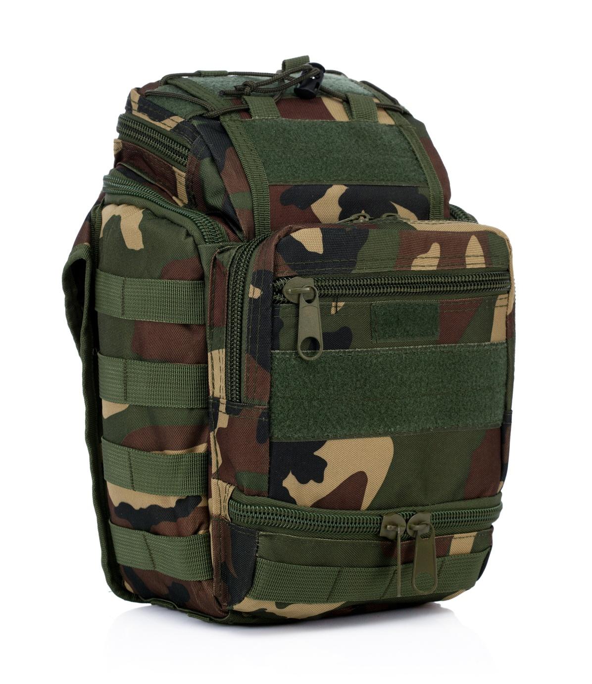 Военная сумка через плечо и на пояс
