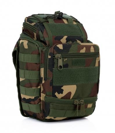 Военная сумка через плечо с поясным креплением купить онлайн