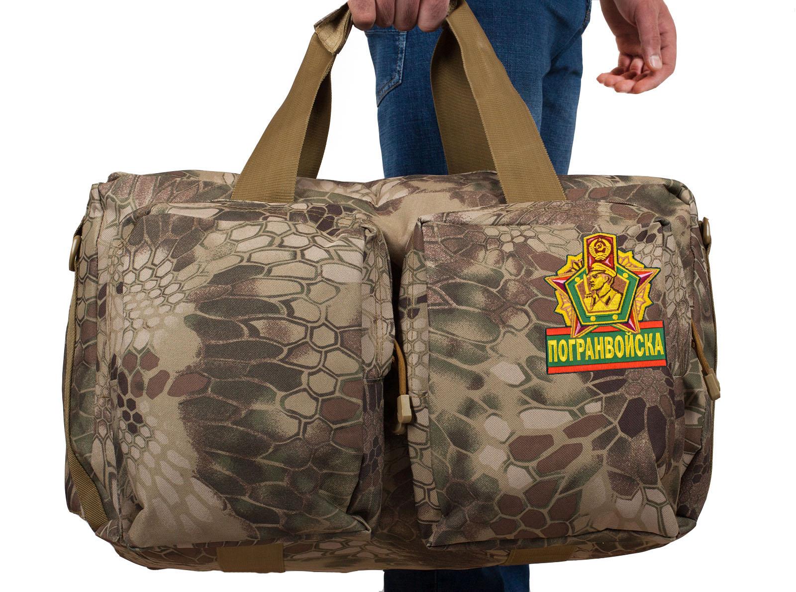 Военная сумка для походов Погранвойск - заказать выгодно