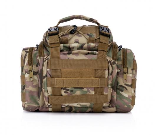 Военная сумка MOLLE под камеру или фотоаппарат купить онлайн