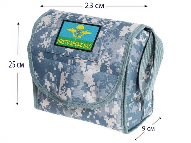 """Военная сумка-несессер """"Никто кроме нас""""."""