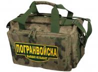 Военная тактическая сумка с нашивкой Погранвойска - купить онлайн