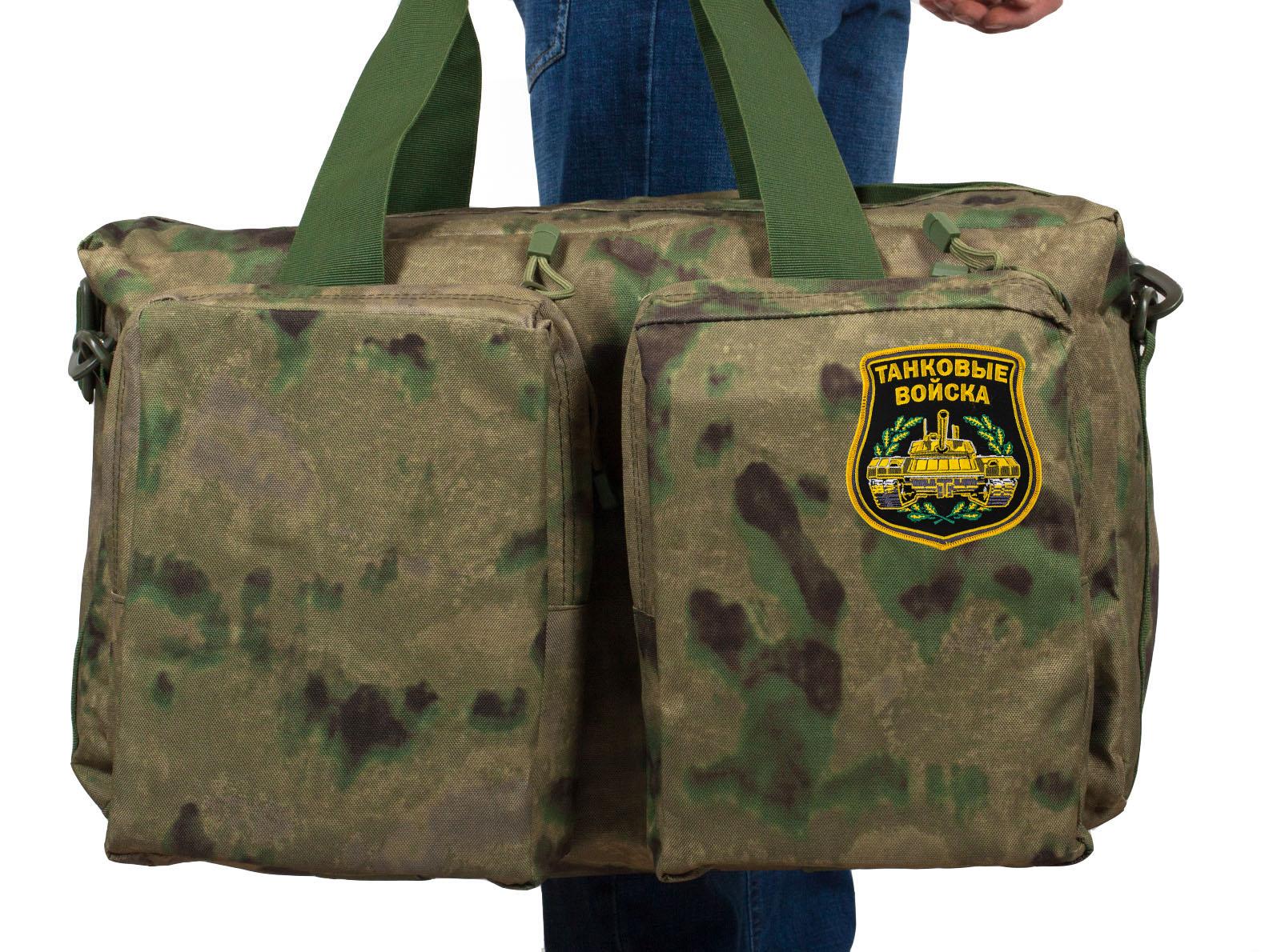 Военная тактическая сумка с нашивкой Танковые Войска - купить в розницу