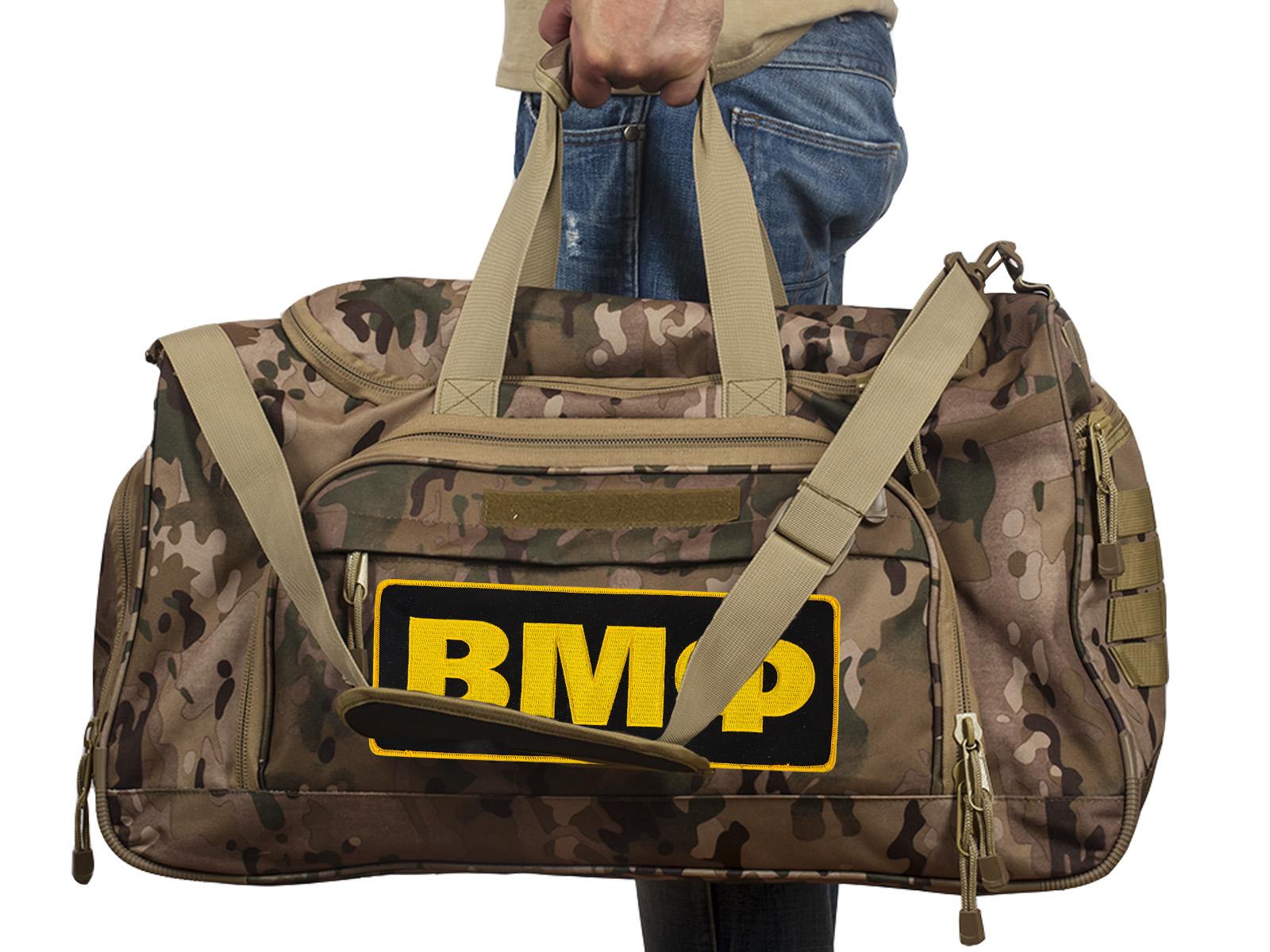 Купить военную тревожную сумку 08032B Multicam с нашивкой ВМФ с доставкой в ваш город