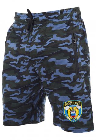 Военные камуфляжные шорты с нашивкой ФСО