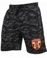 Военные камуфляжные шорты с нашивкой Росгвардия
