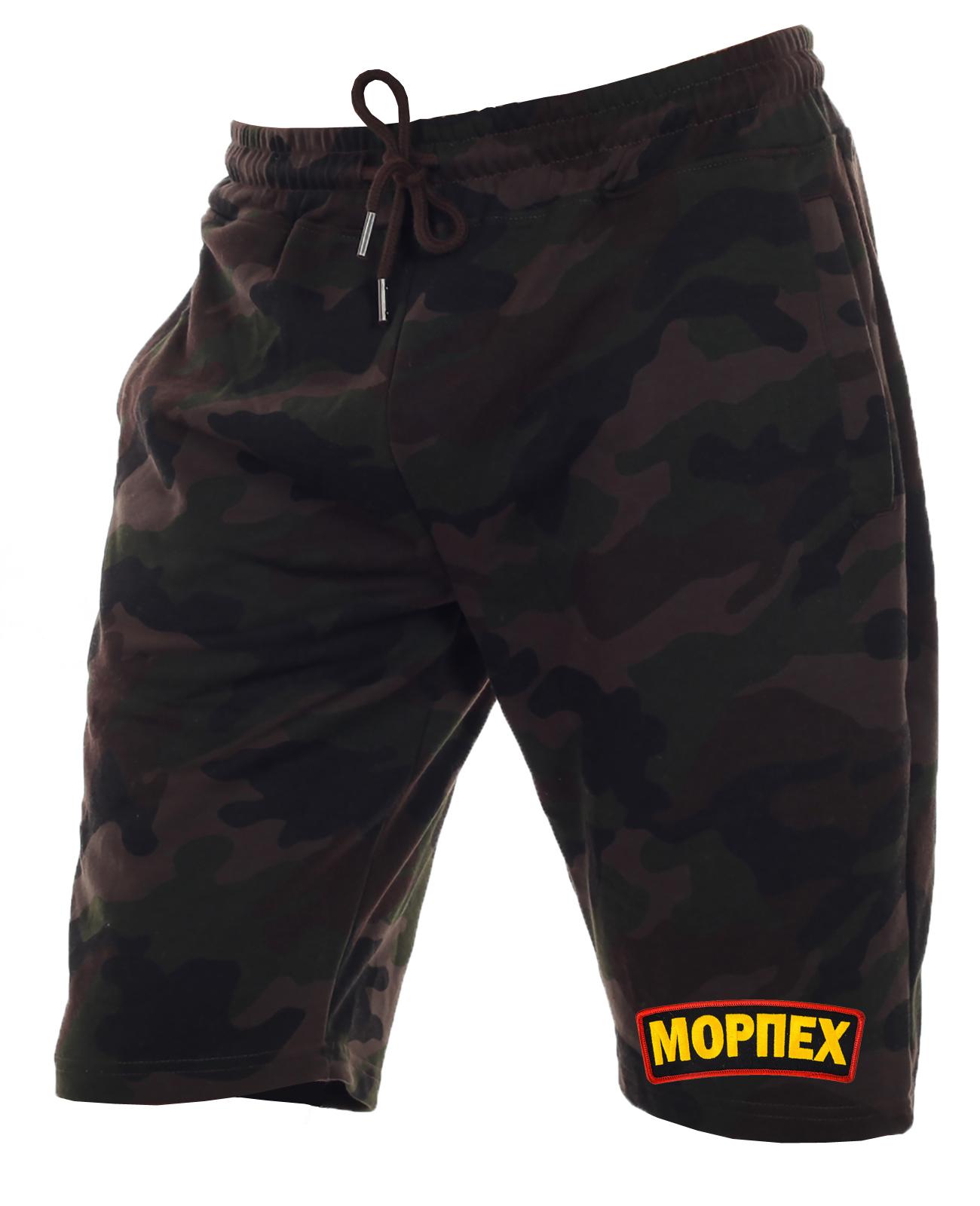 Военные мужские шорты.