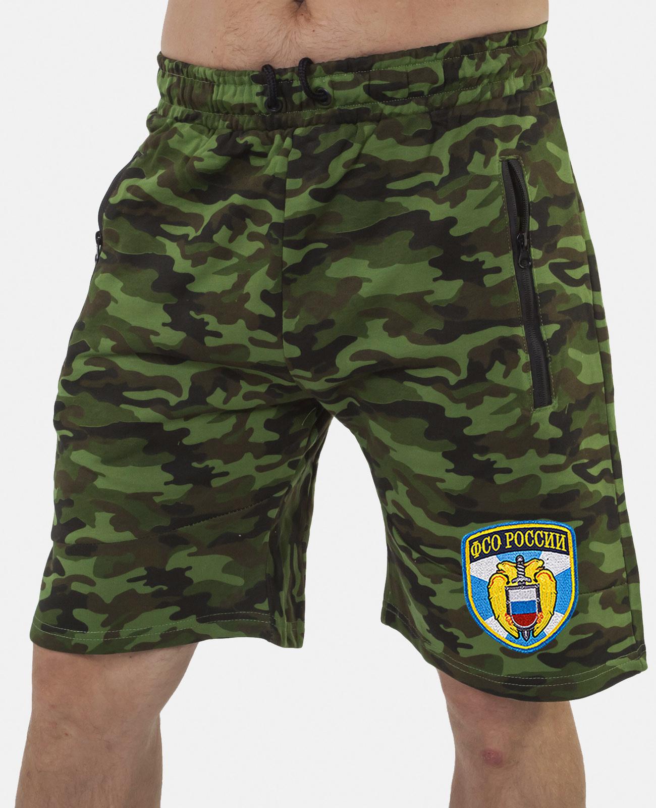 Купить военные особые шорты с нашивкой ФСО в подарок мужчине