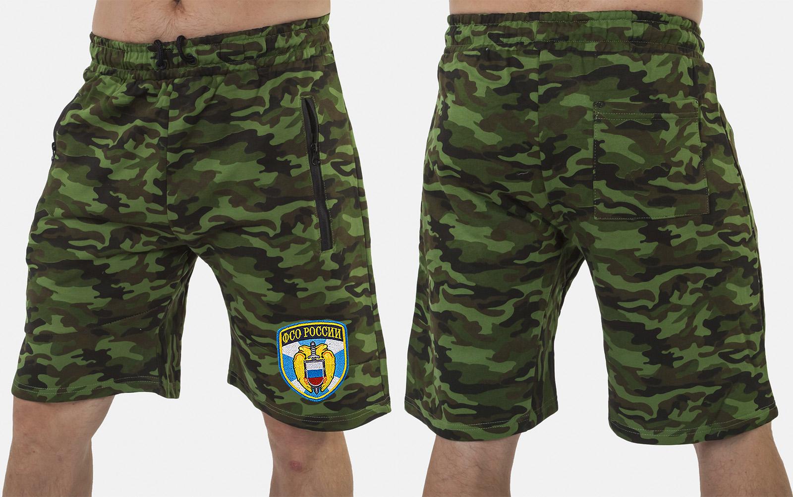 Военные особые шорты с нашивкой ФСО - купить в подарок