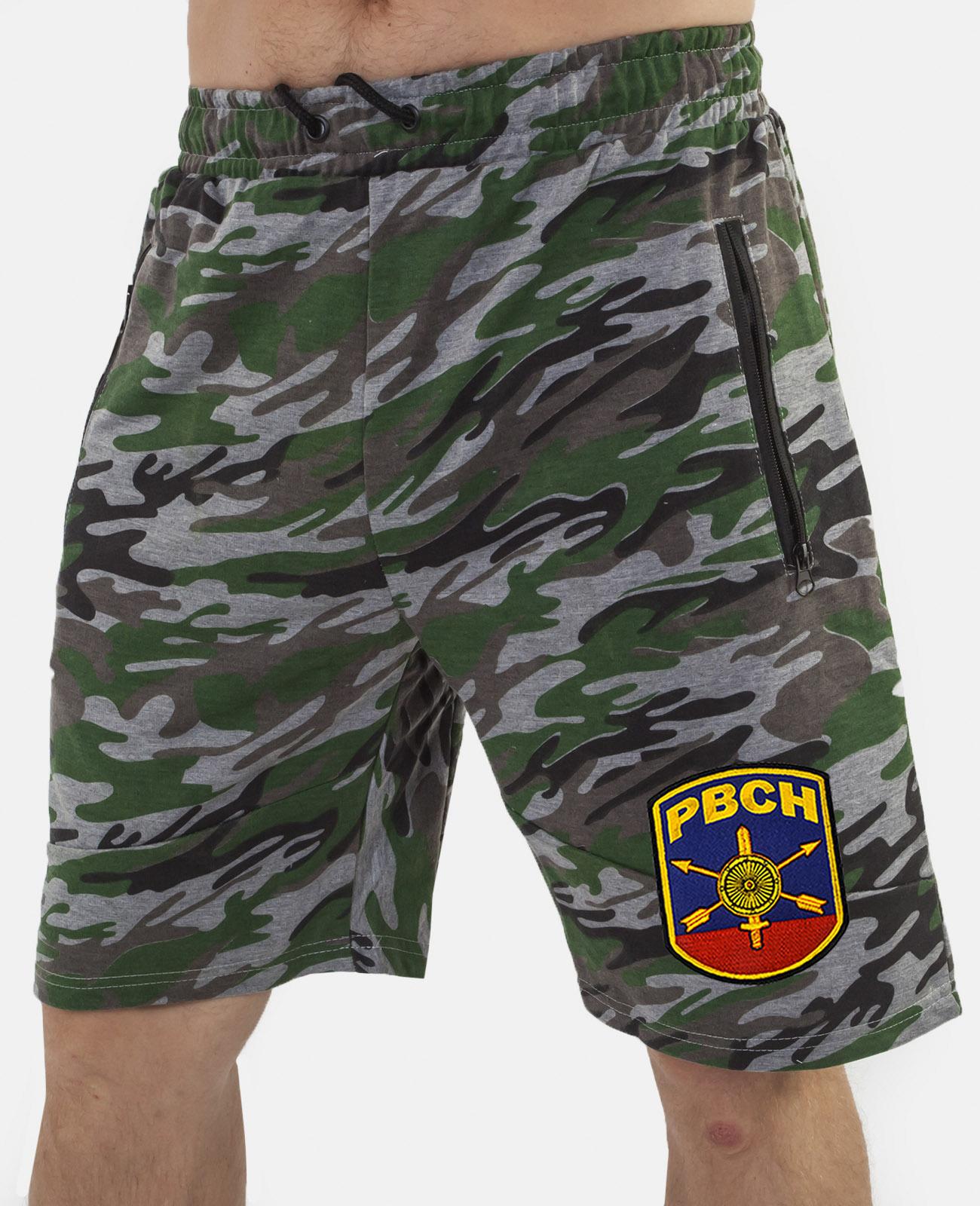Купить военные шорты особого кроя с нашивкой РВСН с доставкой в любой город