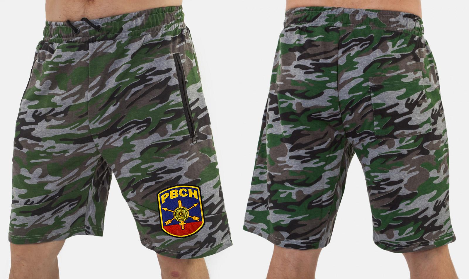 Военные шорты особого кроя с нашивкой РВСН - заказать по низкой цене