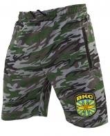 Военные трикотажные шорты с нашивкой ВКС