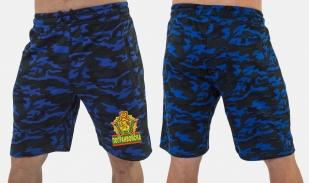 Военные удлиненные шорты с нашивкой Погранвойска - заказать выгодно