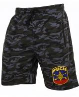Военные удлиненные шорты с нашивкой РВСН