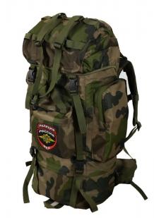 Военный большой рюкзак с нашивкой Полиция России -купить в подарок