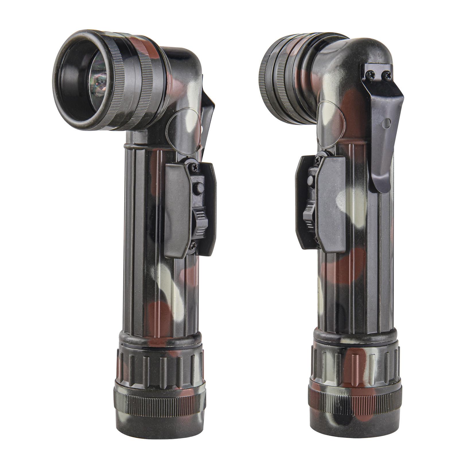 Военный Г-образный фонарь со сменными фильтрами 5ive Star Gear Camo