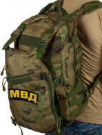 Военный камуфляжный рюкзак с нашивкой МВД