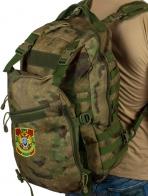 Военный камуфляжный рюкзак с нашивкой Пограничной службы
