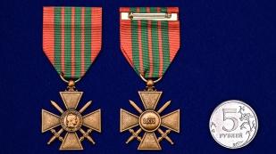 Военный крест (Франция) - сравнительный размер