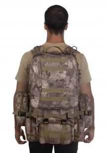 Военный многодневный рюкзак с подсумками (45 литров, Kryptek Nomad)