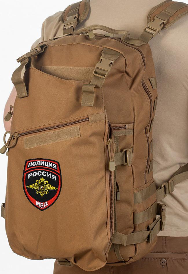 Военный рейдовый рюкзак с нашивкой Полиция России