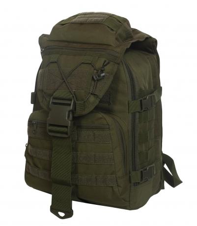 Военный тактический рюкзак (35 литров, олива)