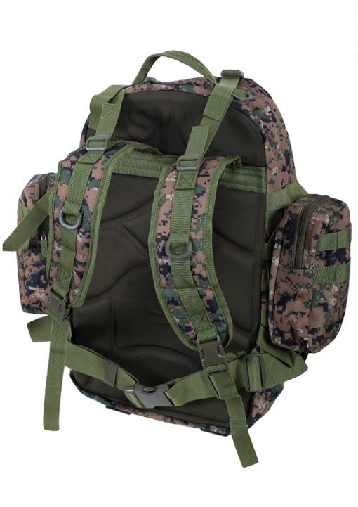 Мужской охотничий рюкзак US Assault с нашивкой Ни пуха, Ни пера! - купить в подарок