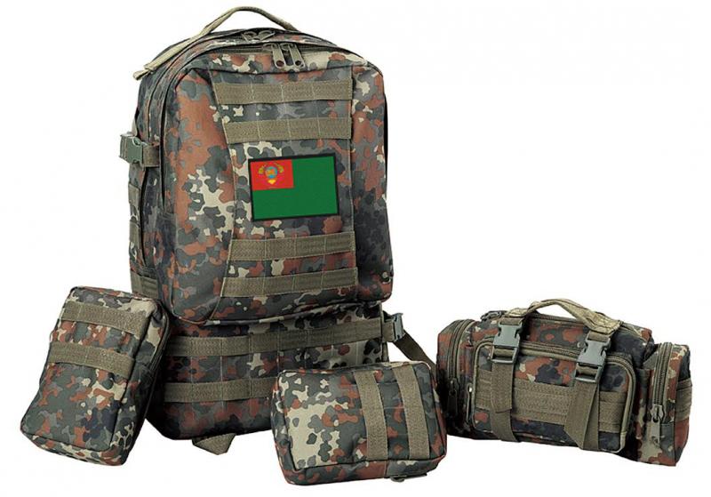 Военный универсальный рюкзак с нашивкой Погранвойск СССР - купить в Военпро